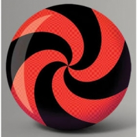 Fun Ball Spiral Red/Black Part - Bruns..