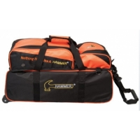 Hammer Triple Tote Black Orange W/Remo..