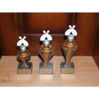 Pokal Trio 3 verschieden Größen