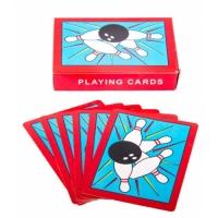 Bowling Kartenspiel mit 32 Spielkarten