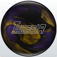 Turbo/R Black/Purple/Gold Ebonite Bowl..