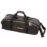 Hammer Premium Triple Tote Black/Carbo..