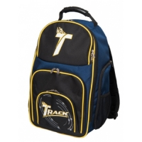 Track Premium Backpack Black/Navy/Yellow