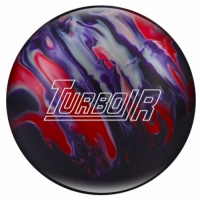 Turbo/R Purple/Red/Silver Ebonite Bowl..