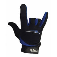 Robby's Thumb Saver Glove Black/Blue B..