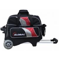 2-Ball Deluxe Roller Schwarz/Rot/Silbe..