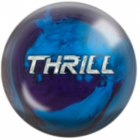 Thrill Purple Blau Pearl Motiv Bowling..