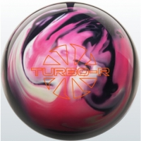 TURBO/R - Pink/Black/White Ebonite Bow..