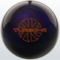 TURBO/R - Purple/Black Ebonite Bowling..