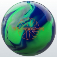 TURBO/R - Blue/Green/Silver Ebonite Bo..