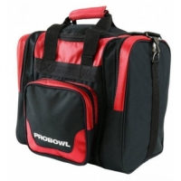 PROBOWL Single Bag Deluxe Schwarz/Rot ..