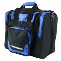 PROBOWL Single Bag Deluxe Schwarz/Blau..