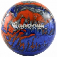 ProBowl Blau Orange Silber Polyester B..