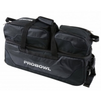 Pro Bowl Triple Tote W/ Shoe Bag Black..
