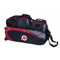Ebonite Players 3-Ball Tote W/Shoes Bl..