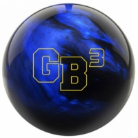 GB3 Schwarz/Blau Ebonite Bowlingball