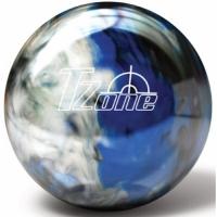TZone Indigo Swirl BW Bowlingball, Bru..