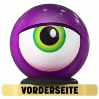 Monster Eyeball- Purple - One The Ball..