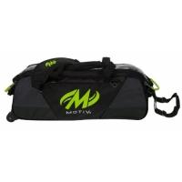 Ballistix™ 3-Ball Tote Grey/Lime Motiv..