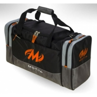 Shock 2-Ball Tote Black Orange Motiv B..