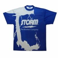 Storm T-Shirt Blau New Style