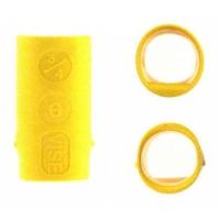 Vise Lady Power Lift & Oval Yellow Fingereinsatz